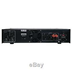 Sound Town Professional 2-Channel x 1500W, 6000W Peak Power Amplifier NIX-6000IB