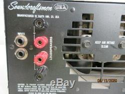 Soundcraftsmen PM860, Professional 600 Watt