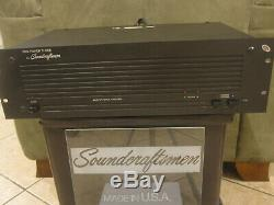 Soundcraftsmen Pro Power Three Power Amplifier FULLY SERVICED & TESTED