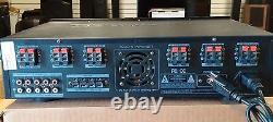Technical Pro H12X500BT 6000w Hybrid Amplifier / Preamp/ Tuner with 12 Speaker Amp