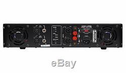 Technical Pro LZ10K Pro 10,000W 2-Ch Amplifier withLCD Display+Key Lock+Headphones