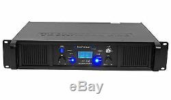 Technical Pro LZ10K Professional 10,000W 2-Ch Amplifier with LCD Display+Key Lock