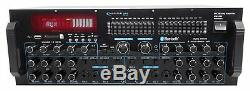 Technical Pro MM3000 Powered Bluetooth Microphone Mixer Amplifier Amp SD, USB