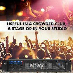 Technical Pro Professional 2U 2 Channel. 3000 Watts Power DJ Amplifier