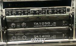 The t amp TA1050 Amplifier Racking Unit Professional Power Amp 1050-Watts