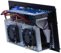 TourCo 2800 watt 2/ch Professional DSP Plate Power Amplifier Module Line Array
