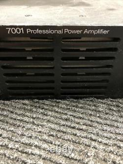 Used Crest Audio 7001 Professional Power Amplifier