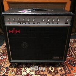 Vintage 1970s HH 212 Professional Power Amplifier IC100 2x12 Guitar Combo