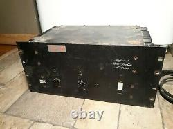 Vintage BGW Professional Power Amplifier Model 600(Untested)