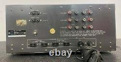 Vintage Kenwood 700M Stereo Power Amplifier. Pro Serviced