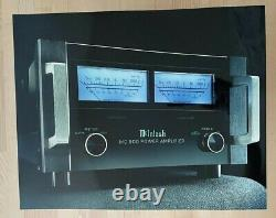 Vintage McIntosh MC500 amplifier High Resolution Professional Sign from McIntosh