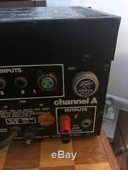 Vintage Peavey CS-800 Professional Power Amplifier Amp