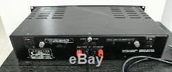 Vintage Serviced Bryston 2B Pro Stereo Power Amplifier Balanced XLR Inputs