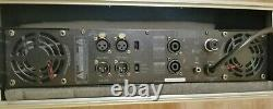 Wharfedale Pro CPD2600 Amplifiier, 2600W RMS. Flight case & leads