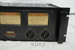 YAMAHA Stereo Power Amplifier with PC2002M Meter Professional Series F338 F/S