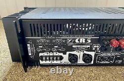 YORKVILLE CR5 Power Amplifier Amp 500W Professional Audio Excellent Condition