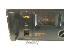 Yamaha P-2200 240w Classic Vintage Professional Power Amplifier amp Pc2002 As Is