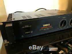 Yamaha P2050 Professional Series Natural Sound Stereo Power Amplifier Amp