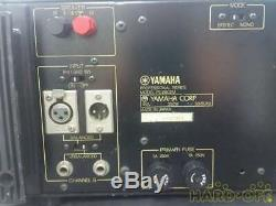 Yamaha PC2002M Professional Power Amp Amplifier Tested Working Used