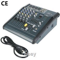 180w Rms 4channel Professional Mélangeur De Puissance De Mélange Amplificateur Amplificateur 16dsp