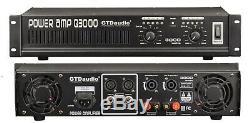 2 Channel 3000 Watts Amplificateur De Puissance Professionnel Amp Stéréo Q3800