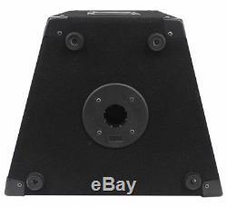 2 Haut-parleurs Rockville Rsg10 10 Pa + Amplificateur De Puissance Dj Professionnel Pro Ax1200 1200w