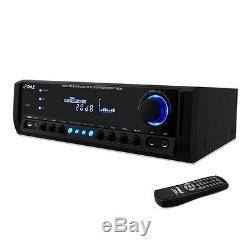 200w Audio Professionnel À La Maison Numérique Stéréo Amplificateur Fm D'amplificateur De Puissance De La Manche Numérique 4