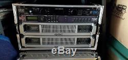 3 Qsc Plx 3602 Professional 2 Canaux D'amplificateur De Puissance De La Série II