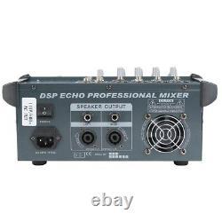 4 Amplificateur De Mélangeur De Puissance De Mélangeur Professionnel De Canal Avec L'ampli De Fente D'usb 16dsp