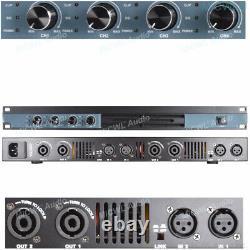4 Chaîne 6400 Watts Professional Dj Pa Amplificateur De Puissance Rack Mount 6400w Micwl
