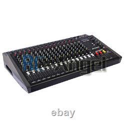 4000watts 16 Channel Professional Mélangeur D'alimentation De Mélange Amplificateur Amplificateur 1608d