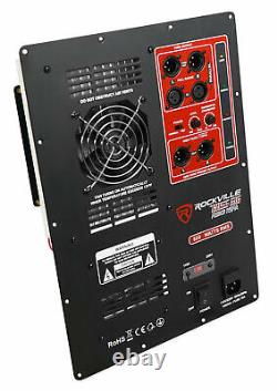 600 Watt Rms Pro Audio Powered Subwoofer Amplificateur Module Panel Xlr In/out