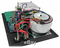 750 Watt Rms Pro Audio Motorisé Plate Amplificateur Subwoofer Panel Module Xlr In / Out