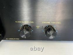 Ab International Series 600a Professional Précédent Rack Mount Power Amplifier
