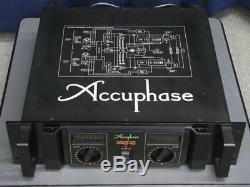 Accuphase Pro10 Amplificateur De Puissance Amp Audio Son Travail A Utilisé Ex ++
