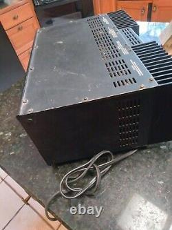 Adcom Gfa-555 II 200 Watt 2 Channel Power Amplificateur Pro Desservi