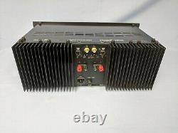 Adcom Gfa-555 Pro Prototype De Pré-production Mod / Mis À Niveau 300wpc S'il Vous Plaît Lire