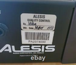 Alesis Ra-100 Amplificateur De Puissance Professionnel De Référence 100w Par Canal