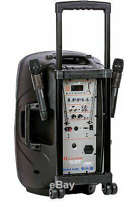 Alphasonik 12 Portable Batterie Rechargeable Powered 1200w Pro Président Amplified