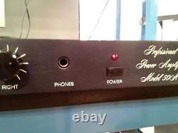 Amp Amplificateur De Puissance Professionnel Bgw 50a Systems