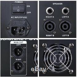 Ampli 16dsp 48v Amplificateur De Studio De Mixage Usb Alimenté Professionnel 6 Canaux