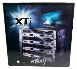 Ampli D'ampli Crown Pro Xti6002 6000w, Avec Optimiseur De Processeur De Son Dsp + Mackie