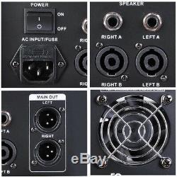 Ampli De Mixage Usb Professionnel Alimenté 4 Canaux Amp Studio 16dsp 48v Phantom