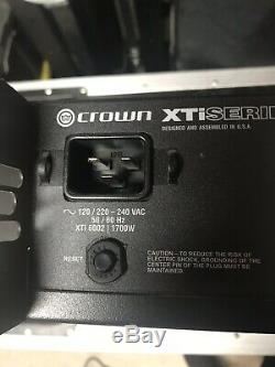 Ampli De Puissance Crown Pro Xti 6002