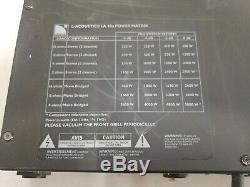 Ampli De Puissance L-acoustics La48 Pro 4600 Watt 2 Ch Garantie Lab Gruppen Fp6400