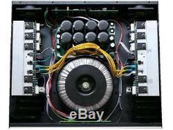 Ampli De Puissance Professionnel 2 Canaux 8500 Watts Amp Stéréo Gtd-audio T-8500