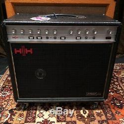 Ampli De Puissance Professionnel Hh 212 Vintage Des Années 1970 Ic100 2x12, Combo Guitare