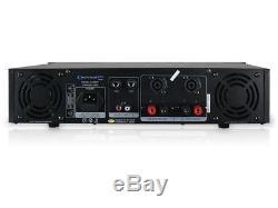 Ampli De Puissance Stéréo Amplificateur 2 000 Watts Pro Studio Dj Professionnel 2u