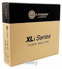 Ampli Professionnel XLI 3500 De Crown Pro Xli3500 2700w Pour Amplificateur De Puissance À 2 Canaux