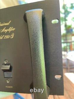 Amplificateur Bgw Professional Model 750g - Rare Et Excellent